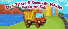 Cars & Trucks Puzzle